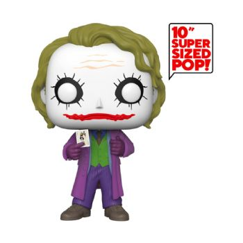 "Funko Pop! Vinyl Batman The Dark Knight Joker 10"" Figure - Pre-order"